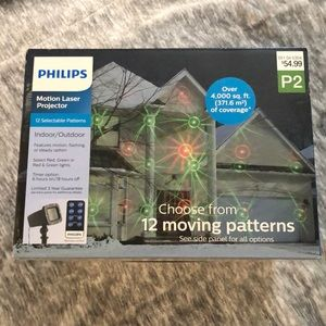 New philips motion laser projector indoor outdoor